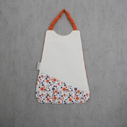 Serviette Bulles Orange