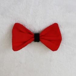 Barrette Rouge - Noir