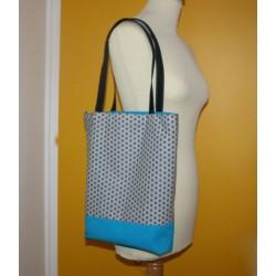 Tote Bag Bleu