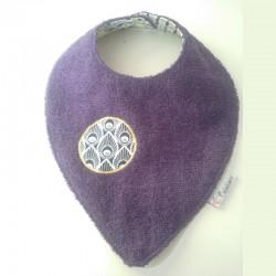 Bavana Super Etanche Violet Plume noire