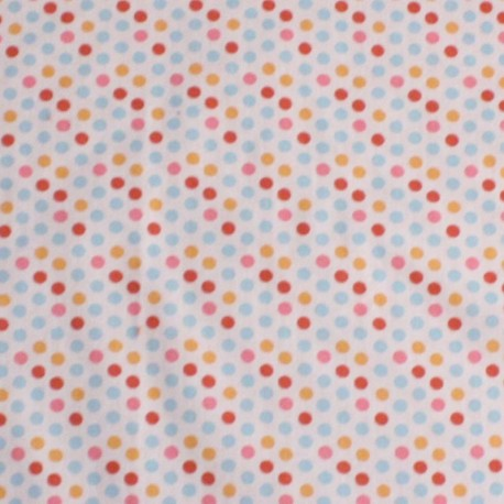 Pois Orange Bleu Rouge